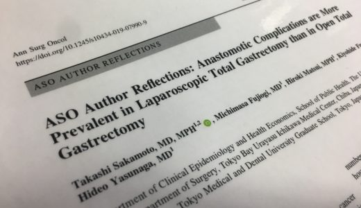 Annals of Surgical Oncology に論文が掲載されました
